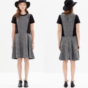 Madewell textured tribune knee length dress